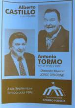 Alberto Castillo y Antonio Tormo