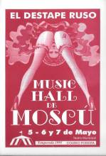 """El Destape Ruso"" - Music Hall de Moscu"