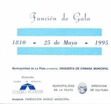 Funcion de Gala-25 de Mayo