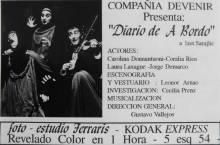"""""""Diario de a bordo"""""""