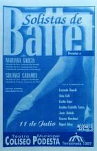 """""""Solistas de Ballet"""""""