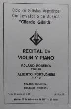 Recital de Violin y Piano