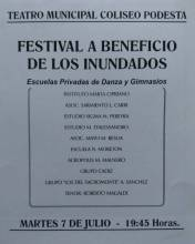 Festival a beneficio