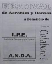 Festival Aerobics y Danzas