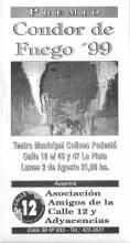 Premios Condor de Fuego '99