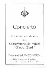 Concierto Orquesta de Vientos