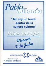 """""""No soy un feudo dentro de la cultural cubana"""""""