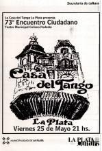 73º Encuentro ciudadano-Casa del Tango