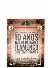 Taller de Danza Flamenco-Contemporánea-10 años