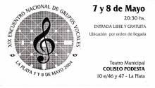 XIX Encuentro Nacional de Grupos Vocales