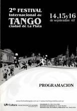 """2°Festival Internacional de Tango - La Plata"""""""