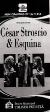 César Strocio y Esquina