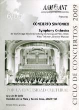 Por la diversidad cultural Concierto Sinfónico