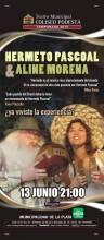 Hermeto Pascoal y Aline Morena