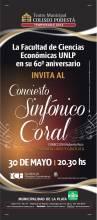 Concierto Sinfónico Coral