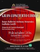 Gran concierto lirico