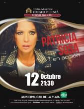 Patricia Sosa en acción