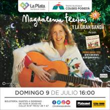 Magdalena Fleitas y la gran banda