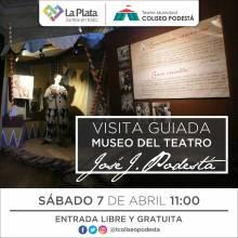 Visita guiada al Museo del Teatro José Juan Podestá
