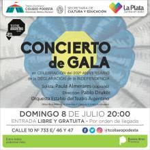 Concierto de Gala 9 de julio