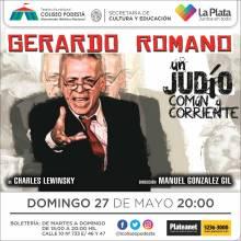 Un judío común y corriente. Gerardo Romano