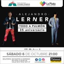 Alejandro Lerner. Todo a pulmón