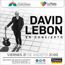 David Lebón en concierto