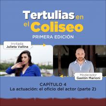 Tertulias en el Coliseo: Julieta Vallina