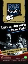 Liliana Herrero y Juan Falu