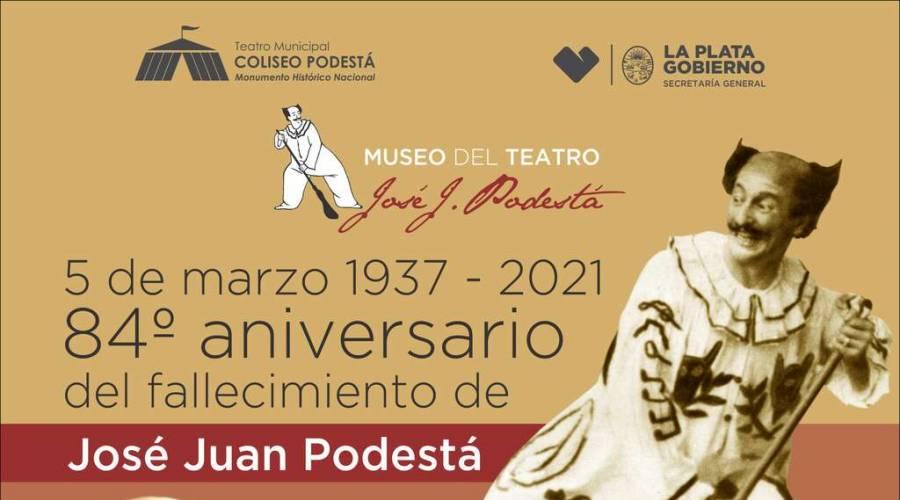Recordamos al artista uruguayo José Juan Podestá en el 84° aniversario de su fallecimiento.